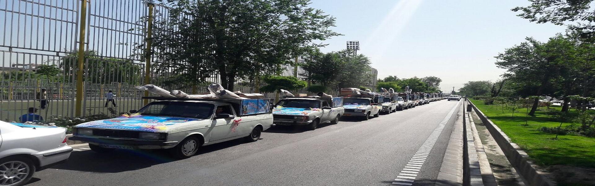 ارائه انواع خدمات حمل و نقل بین شهری